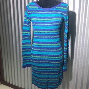Style Benetton crochet dress